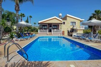 4 bedroom villa with private pool located in Coral Bay Paphos Cyprus
