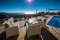 Luxury 6 bedroom villa with private pool at the hills of Paphos offering an amazing unobstructed view.