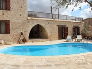 A stone built property has been renovated to a high standard and offers the most traditional Cypriot village holiday that one will find anywhere on the island
