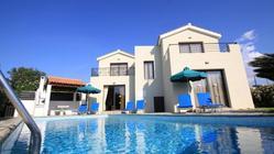 Villa Kyprogenia is a 3 bedroom holiday villa located in Chlorakas Paphos Cyprus.