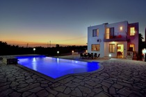 Four bedroom holiday villa with private pool located at sea cave Peyia Paphos
