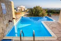 3 Bedroom holiday house with private pool located at Kouklia Paphos Cyprus